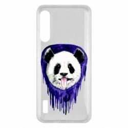 Чохол для Xiaomi Mi A3 Panda on a watercolor stain