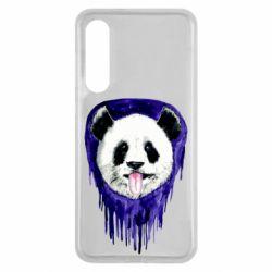 Чехол для Xiaomi Mi9 SE Panda on a watercolor stain