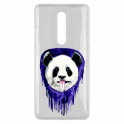 Чехол для Xiaomi Mi9T Panda on a watercolor stain