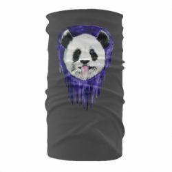 Бандана-труба Panda on a watercolor stain