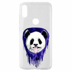 Чехол для Xiaomi Mi Play Panda on a watercolor stain