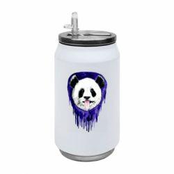 Термобанка 350ml Panda on a watercolor stain