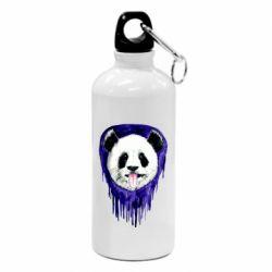 Фляга Panda on a watercolor stain