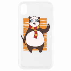 Чехол для iPhone XR Panda Potter