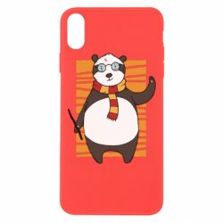 Чехол для iPhone Xs Max Panda Potter