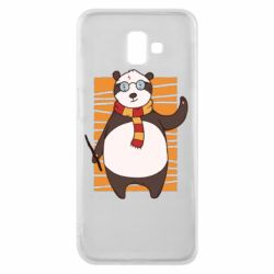 Чехол для Samsung J6 Plus 2018 Panda Potter