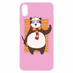 Чехол для iPhone X/Xs Panda Potter