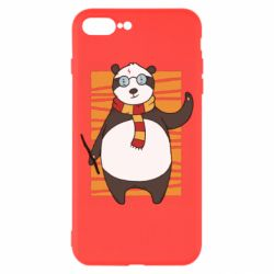 Чехол для iPhone 8 Plus Panda Potter