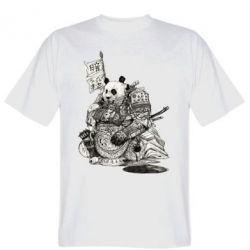 Футболка Панда самурай