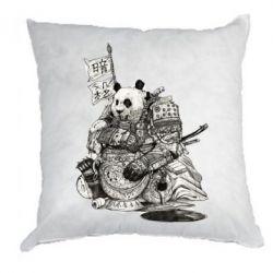 Подушка Панда самурай