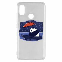 Чехол для Xiaomi Mi8 Panda and rain