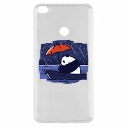 Чехол для Xiaomi Mi Max 2 Panda and rain