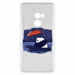 Чехол для Xiaomi Mi Mix 2 Panda and rain