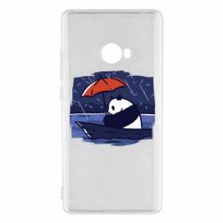 Чехол для Xiaomi Mi Note 2 Panda and rain