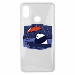Чехол для Xiaomi Mi Max 3 Panda and rain