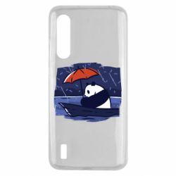 Чехол для Xiaomi Mi9 Lite Panda and rain