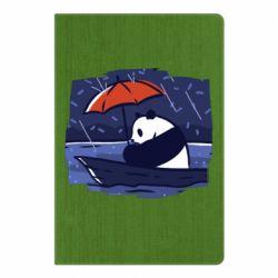 Блокнот А5 Panda and rain