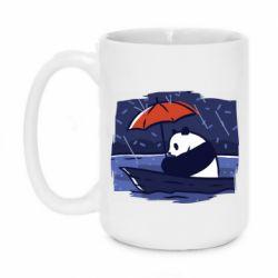 Кружка 420ml Panda and rain