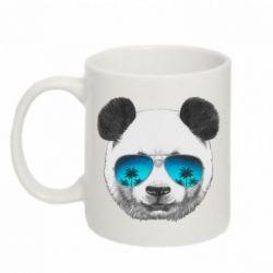 Кружка 320ml Панда в очках - FatLine