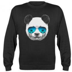 Реглан (світшот) Панда в окулярах