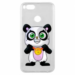 Чехол для Xiaomi Mi A1 Panda with a medal on his chest