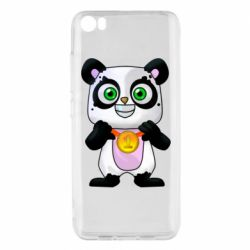 Чехол для Xiaomi Mi5/Mi5 Pro Panda with a medal on his chest