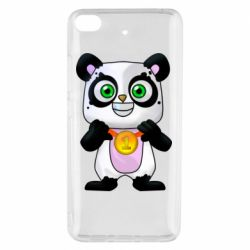 Чехол для Xiaomi Mi 5s Panda with a medal on his chest
