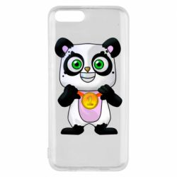 Чехол для Xiaomi Mi6 Panda with a medal on his chest
