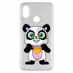 Чехол для Xiaomi Mi8 Panda with a medal on his chest