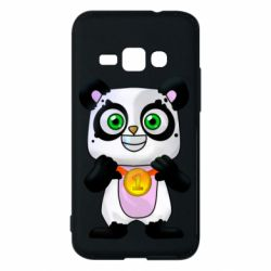 Чохол для Samsung J1 2016 Panda with a medal on his chest