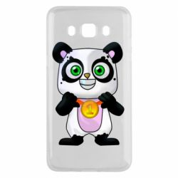 Чохол для Samsung J5 2016 Panda with a medal on his chest