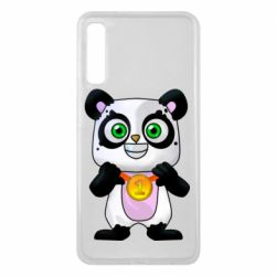 Чохол для Samsung A7 2018 Panda with a medal on his chest