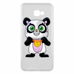 Чехол для Samsung J4 Plus 2018 Panda with a medal on his chest
