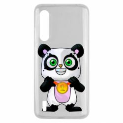 Чехол для Xiaomi Mi9 Lite Panda with a medal on his chest