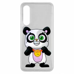Чехол для Xiaomi Mi9 SE Panda with a medal on his chest