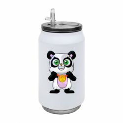 Термобанка 350ml Panda with a medal on his chest