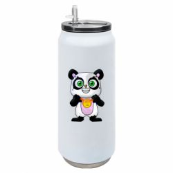 Термобанка 500ml Panda with a medal on his chest