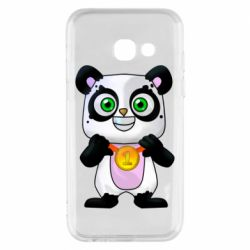 Чохол для Samsung A3 2017 Panda with a medal on his chest