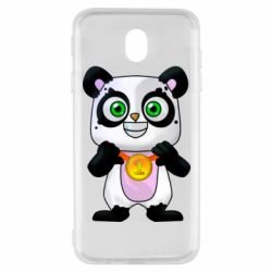 Чохол для Samsung J7 2017 Panda with a medal on his chest