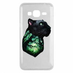 Чохол для Samsung J3 2016 Panther and Forest