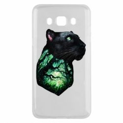 Чохол для Samsung J5 2016 Panther and Forest