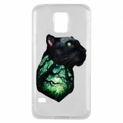 Чохол для Samsung S5 Panther and Forest