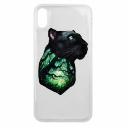 Чохол для iPhone Xs Max Panther and Forest