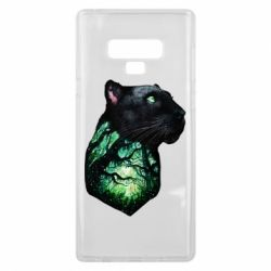 Чохол для Samsung Note 9 Panther and Forest
