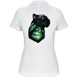 Купить Женская футболка поло Panther and Forest, FatLine