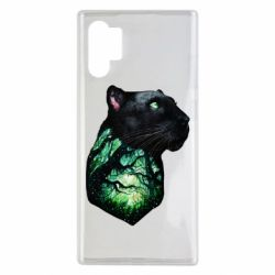 Чохол для Samsung Note 10 Plus Panther and Forest