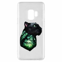 Чохол для Samsung S9 Panther and Forest