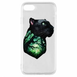 Чохол для iPhone 7 Panther and Forest