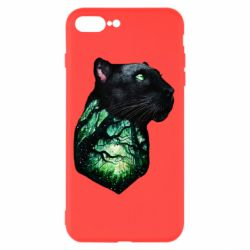 Чохол для iPhone 8 Plus Panther and Forest