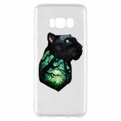 Чохол для Samsung S8 Panther and Forest
